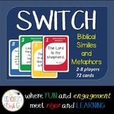 Bible SWITCH Similes and Metaphors ELA Card Game