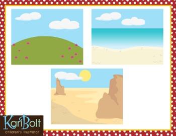 Bible Scenery Clip Art
