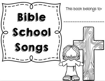 Bible School Songs Booklet