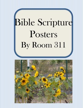 Bible Scripture Posters
