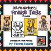 Bible-Scripture-Praise Tags Freebie
