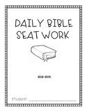 Bible Seatwork
