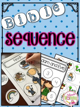 Bible Sequence {Interactive Cut and Paste}