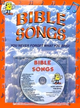 Bible Songs CD Kit by Kathy Troxel (CD and Book) from Audio Memory