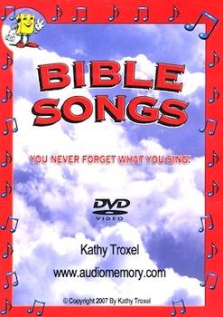 Bible Songs DVD by Kathy Troxel/ Audio Memory