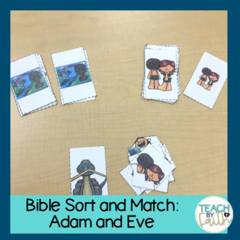 Bible Sort and Match: Adam and Eve