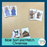 Bible Sort and Match: Christmas