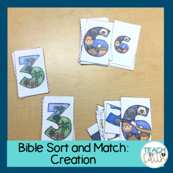 Bible Sort and Match: Days of Creation