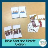 Bible Sort and Match: Gideon