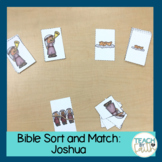 Bible Sort and Match: Joshua and the Battle of Jericho