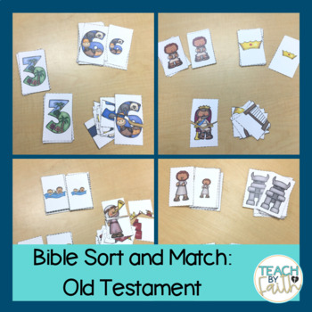 Bible Sort and Match: Old Testament (Growing Bundle)