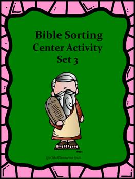 Bible Sorting Activity Set 3