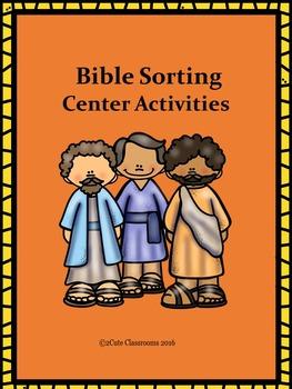 Bible Sorting Center Activities