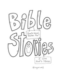 Bible Stories Reflection  Booklet Christian / Catholic