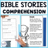 Bible Stories Reading Comprehension Passages and Questions