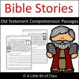Bible Stories Comprehension Passages Old Testament
