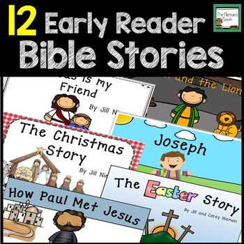 Bible Stories Early Readers Set 1