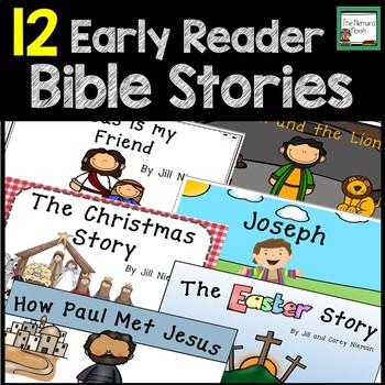 Bible Stories Early Readers- Growing Bundle