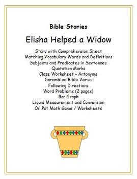 Elisha Helped a Widow
