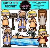Bible Stories - Elisha The Prophet Clip Art Bundle {Educlips Clipart}