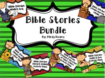 Bible Stories Bundle - Six Stories Included