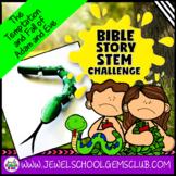 Bible Stories STEM Challenge (Adam and Eve Bible STEM Activity)