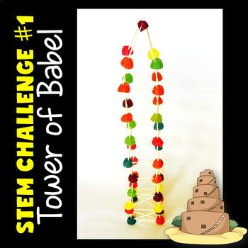 Bible Stories STEM Challenge BUNDLE Volume 1
