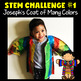 Bible Stories STEM Challenge BUNDLE Volume 2 (STREAM Activities BUNDLE)
