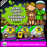 Bible Stories STEM Challenge BUNDLE Volume 3 (Bible STEM Activities BUNDLE)