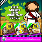 Bible Stories STEM Challenge BUNDLE Volume 4 (Bible STEM Activities BUNDLE)