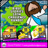 Bible Stories STEM Challenge BUNDLE Volume 6 (Bible STEM A