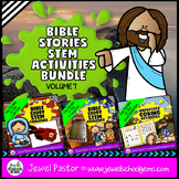 Bible Stories STEM Challenge BUNDLE Volume 7 (Bible STEM A