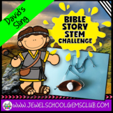 Bible Stories STEM Challenge (David and Goliath Activities)