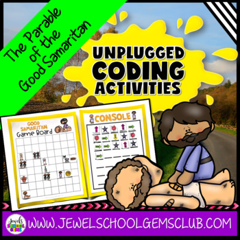 Bible Stories STEM Activities (Good Samaritan Coding Unplugged Activities)