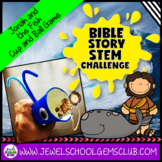 Bible Stories STEM Challenge (Jonah and the Fish Bible STEM Activities)