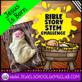 Bible Stories STEM Challenge (The Birth of Jesus Bible STEM Activity)