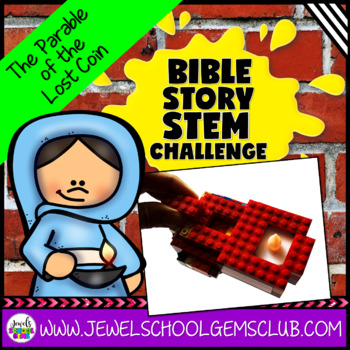 Bible Stories STEM Challenge (The Parable of the Lost Coin Bible STEM Activity)
