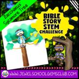 Bible Stories STEM Challenge (Zacchaeus Bible STEM Activity)