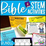 Bible Stories STEM Challenges BUNDLE (Bible STEM STREAM Ac