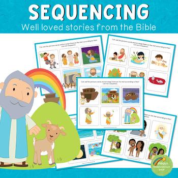 Bible Stories Sequencing BUNDLE