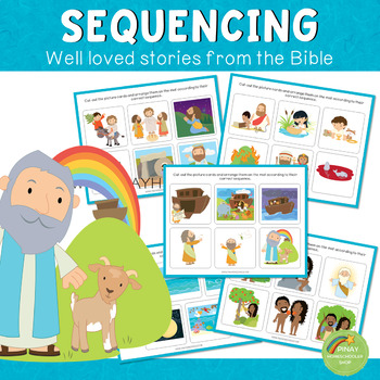 Bible Stories Sequencing BUNDLE