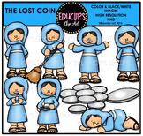 Bible Stories - The Lost Coin Clip Art Bundle {Educlips Clipart}