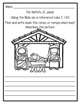 Bible Stories {The Nativity of Jesus}