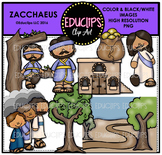 Bible Stories - Zacchaeus Clip Art Bundle {Educlips Clipart}