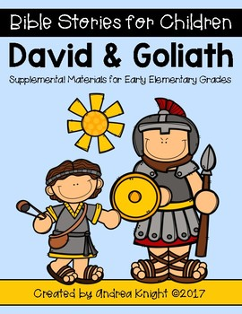Bible Stories for Children:  David and Goliath