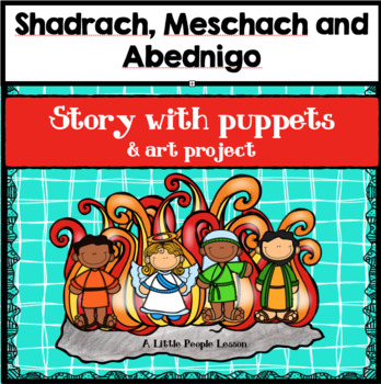 BIBLE STORIES FOR LITTLE KIDS:  Shadrach, Meshach & Abednigo