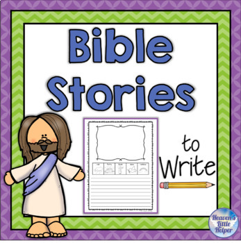 Bible Stories to Write