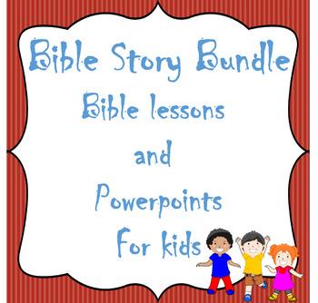 Bible Story Bundle-No Prep