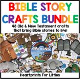 Bible Story Crafts Bundle
