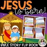 Nativity Bible Story Flip Book: Jesus Is Born! {Print, Fold, Staple, Done}
